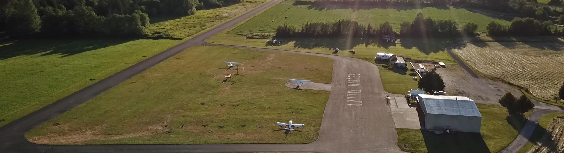 aerial view of Sequim Valley Airport